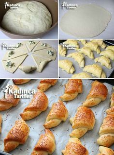 Cotton Pastry Recipe, How To? - Womanly Recipes - Delicious, Practical and Delicious Food Recipes Site, Greek Cooking, Cooking Time, Great Recipes, Favorite Recipes, Recipe Sites, Bread And Pastries, Middle Eastern Recipes, Arabic Food, Iftar