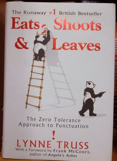 Great! book. about the? importance, of punctuation. #FoundItAtGoodwillNM
