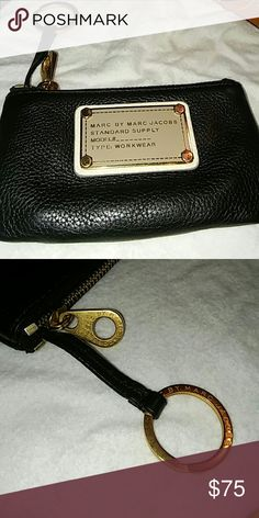 Marc Jacobs Coin/ Card Pouch Great condition. No Flaws. Marc by Marc Jacobs Bags Wallets