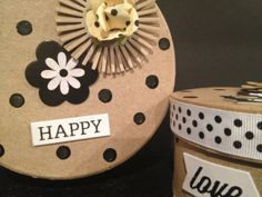 Set of 2 whimsical decorative boxes to store your by Bedotted, $18.50