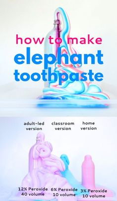 to Make Elephant Toothpaste Learn how to make Elephant Toothpaste, a classic science experiment that will wow kids and adults alike!Learn how to make Elephant Toothpaste, a classic science experiment that will wow kids and adults alike! Science Experiments For Preschoolers, Preschool Science Activities, Science Projects For Kids, Cool Science Experiments, Science For Kids, Toddler Activities, Learning Activities, Kids Learning, Science Classroom