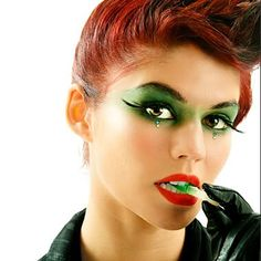 Poison Ivy Costume Makeup | If I'm ever Poison Ivy for a costume party this makeup would be ...