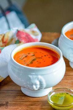 Vegan Cream Of Mushroom Soup With Not So Vegan Herb Bread Recipes ...