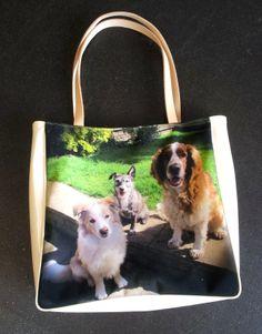 Un comoda borsa da usare tutti i giorni e da stampare con la foto dei propri cani cagnolini!
