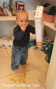 The One Year Old's Manifesto - tips for living written by a 1 year old (ha!)