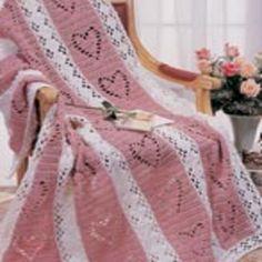 Free Hearts & Diamonds Crochet Pattern from RedHeart.com