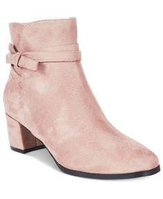 Impo Eman Block-Heel Booties