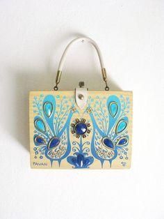 Vintage Enid Collins Pavan Box Bag