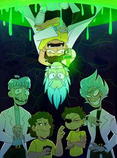 Rick and Morty,Рик и Морти, рик и морти, ,фэндомы,Rick and Morty персонажи,Rick Sanchez,Rick, Рик, рик, рик санчез,Morty Smith,Морти, морти, Морти Смит, Morty,Evil Rick,Злой Рик,Evil Morty,Rick and Morty art