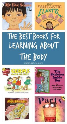 My kids are fascinated with their bodies. They are going to love this book list!