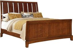 Laurel Hills Sleigh Bed