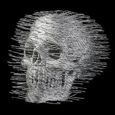 David Mach, Дэвид Мак, металлические вешалки, скульптуры из металлических вешалок, metal hangers