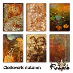 by Rucola Designs  Deviant Scrap :: What's New :: Clockwork Autumn