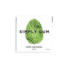 Mint settles stomach acids, nausea...active athletes have a higher intake of protein and intense workout schedules...be prepared to settle the system with a quick dose of all natural mint gum...just throw it in the gym or hockey bag Simply Gum - Natural Mint - SIMPLY GUM - GNC