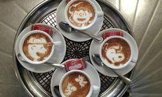 Charlie Brown Latte Art