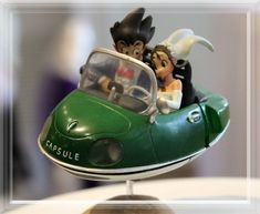 Dragon Ball Z wedding topper. My fiance loves this show!