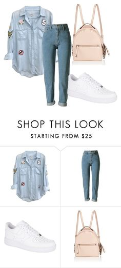 """""""Untitled #106"""" by halissiaelviracra on Polyvore featuring Rails, NIKE and Fendi"""