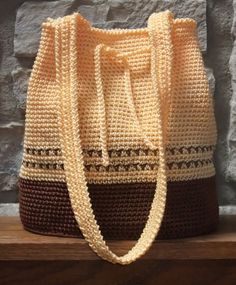 Creative Yarn Source/Crochet Style Etc Buttercup Bag