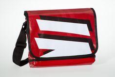 Messenger Bagy: red & black VI