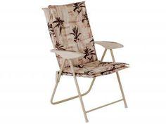 Cadeira para Jardim Aço Dobrável Mor - Kairos