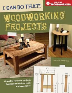 I Can Do That! Woodworking Projects