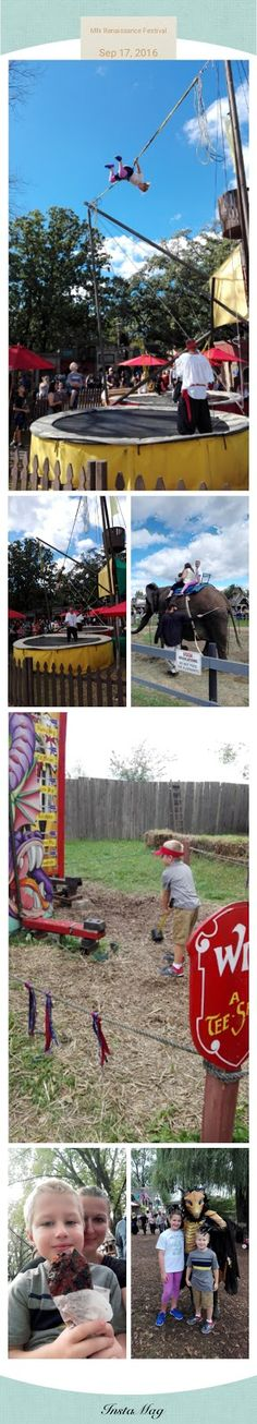 MN Renaissance Festival   This was the third year we have taken our kids to see the Minnesota Renaissance Festival. It just ended this pa...