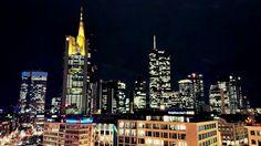 Downtown Frankfurt, by night. An awesome sight by @GrujićLjubomir. Captured with #HTCOne X #HTCreativity