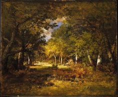 Forest Scene - Narcisse-Virgile Diaz de la Peña - Google Cultural Institute