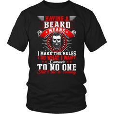 Having a Beard means