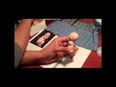 Making a polymer clay baby torso - YouTube