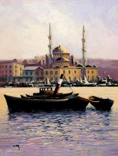 İstanbul Tabloları İST 048 http://es.pinterest.com/bernaaltundas/istanbul/