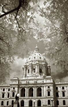 State house / The Minnesota State Capitol, US