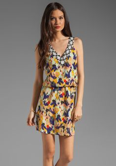 Eight Sixty Diane Ikat Dress in Multi