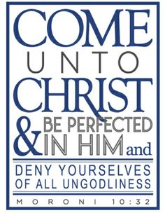 Notebook Cover - Come Unto Christ YM