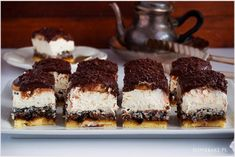ciasto-pijak-9 Polish Desserts, Tiramisu, Cooking Recipes, Sweets, Baking, Ethnic Recipes, Cupcake, Food, Kuchen