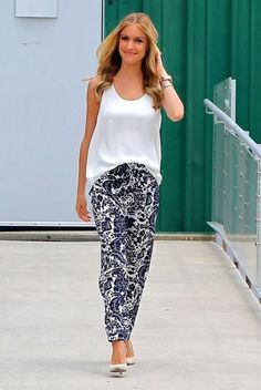 Make a statement in print pants, see how Kristin Cavallari, plus other celebs style theirs.