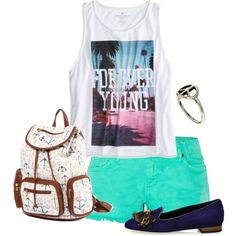 1o1 by itsagoldsky on Polyvore featuring mode, American Eagle Outfitters, ASOS, Summer, festival, want, colorful and festivalstyle