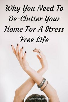 Clutter. It's gotta go! No matter how you hide it, cover it up, or pretend it isn't there, it's dragging you down. Read more on my blog about how to remove stress while removing the clutter