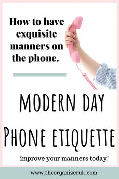 Modern day phone etiquette #parentingtips #parentinghacks #parenting #home #homemaking #momshelp #parentingtricks #routine #kidsroutine #phoneetiquette #etiquetteforkids #telephoneetiquette