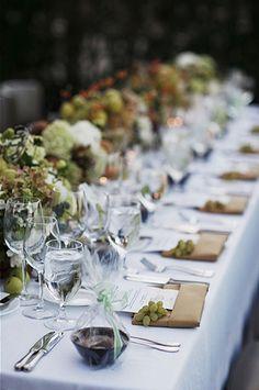Rustic wedding #tablescape @FarmCarnerosInn in Napa Valley, CA.
