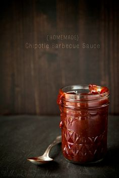 Homemade Sweet and Spicy Chipotle Barbecue Sauce - so much better than store bought!
