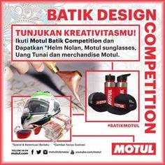#Lomba #Desain #Batik #Design #Competition #Motul MOTUL Batik Design Competition 2018  DEADLINE: 28 Januari 2018  http://infosayembara.com/info-lomba.php?judul=motul-batik-design-competition-2018