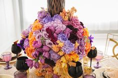 WedLuxe– Autumn Splendor | Photography by: Nicole Ashley Photography Follow @WedLuxe for more wedding inspiration!