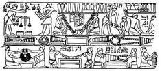 Laboratorio di metallo dei lavoratori in Old Egitto
