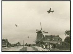 "During Operation Manna, the bomber pilots had to fly extremely low to drop the food parcels over Holland to the starving Dutch people. One Canadian pilot recalled flying by a windmill and people waving from its balcony. ""You understand, we had to look up to wave back!"""