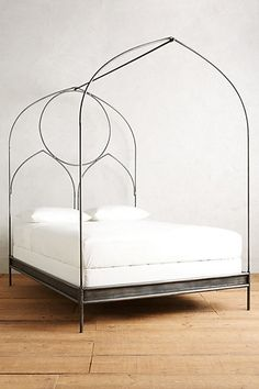 Ariadne Bed #anthropologieYou cna decorate this frame and do some pretty cool stuff