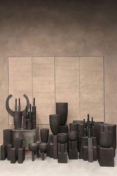 vosgesparis: Bespoke objects by Arno Declercq Home Interior Design, Interior Architecture, Vase, Minimal Design, Wood Turning, Home Decor Accessories, Design Crafts, Scandinavian Design, Ceramic Art