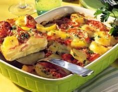 #Zapiekanka #ziemniaczana z #mozzarella i #pomidorami