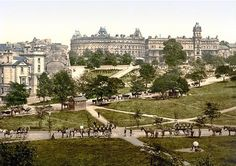 The heart of Harrogate as the preeminent spa town in Victorian Britain.