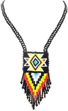 Cherokee Indian and Styled Beaded Necklaces Page 14